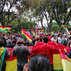 Bolivians aren´t fighting because Evo Morales won, they´re fighting because he lost.